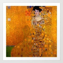 THE LADY IN GOLD BLOCH BAUER - GUSTAV KLIMT Art Print