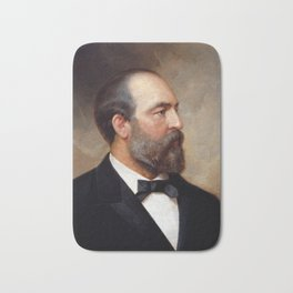 President James Garfield Bath Mat