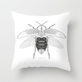 entomology 03. (ii) Throw Pillow