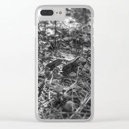 mushrooms Clear iPhone Case
