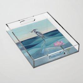The Deep Blue Acrylic Tray