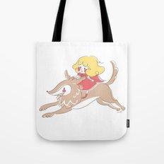 Caperucita de paseo Tote Bag