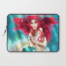 Mermaid underwater Laptop Sleeve