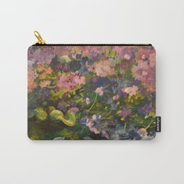 Pond with flowers Carry-All Pouch