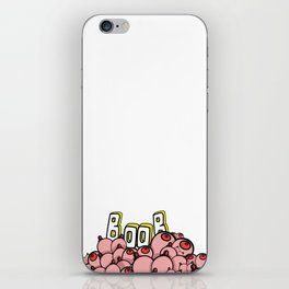 Booby style iPhone Skin