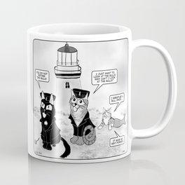 Lighthouse Cats Coffee Mug