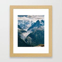 Chamonix, France #society6 #decor #buyart Framed Art Print