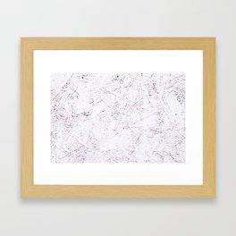 White Chipboard Framed Art Print