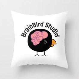 BrainBird Studio customized Throw Pillow