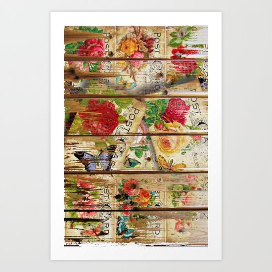 Holiday Romance Art Print