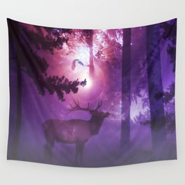 The enchanted forest Wall Tapestry