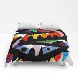 Depemiro Abstract Colorful Art Comforters