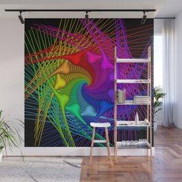rainbow pattern Wall Mural