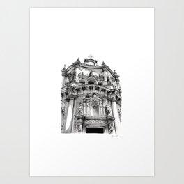 Chiesa di San Matteo - Lecce Art Print