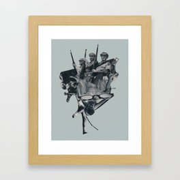 Upperhand Framed Art Print