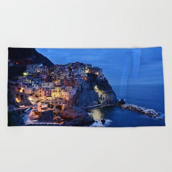 Cinque Terre Beach Towel