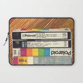VHS & Wooden Wall Laptop Sleeve