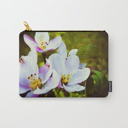 Apple Blossom Days Carry-All Pouch