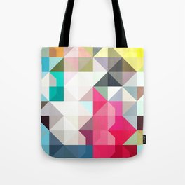 color story - pixelated warfare Tote Bag