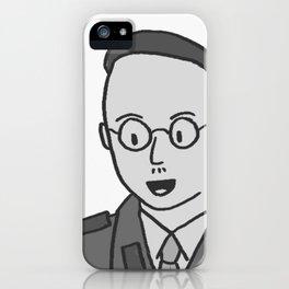 Mr. Heinrich iPhone Case