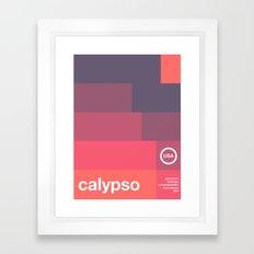 calypso single hop Framed Art Print