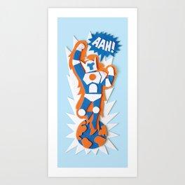 AAH! Art Print