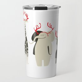 Happy to be Canadian! Travel Mug