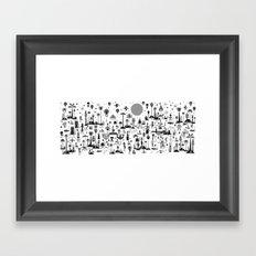 HEKSENSTOET Framed Art Print