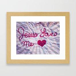 Jeusus Loves ne #2 Framed Art Print