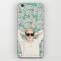 coconutwishes iPhone & iPod Skins featuring Niall daisies field by Coconut Wishes