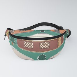 Cozy Yurts -n- Pines Fanny Pack