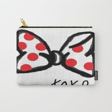 Minnie Red Polka Dot Bow Carry-All Pouch