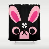 wrestling Shower Curtains featuring Wrestling Academy Koko by TokyoCandies