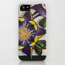 Columbines iPhone Case