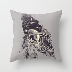 Stranded on Alpha Centauri Throw Pillow