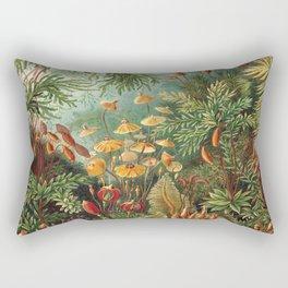 Wild Jungle, exotic flowers Rectangular Pillow