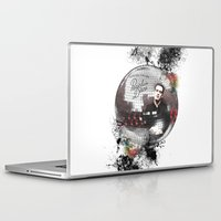 panic at the disco Laptop & iPad Skins featuring Panic! At The Disco by Andrea Valentina