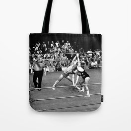 Kevin VonEric vs Frank Star Tote Bag