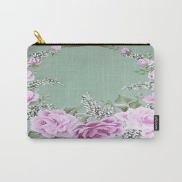 Jade Rose Collection Carry-All Pouch