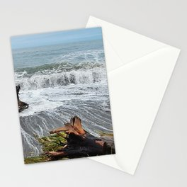 Sea and driftwood mix it up Stationery Cards