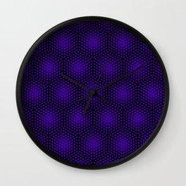Fading Ultraviolet Wall Clock