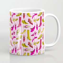 Stilettos and High Heels Shoe Pattern Coffee Mug