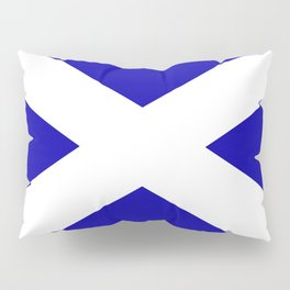 Scottish Flag Pillow Sham