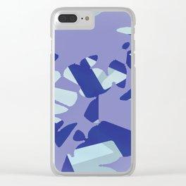 Splattering Clear iPhone Case