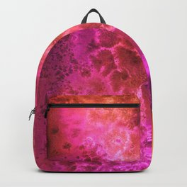 Abstract cosmos watercolor painting Backpack