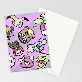 Cute Alola Pokémon Stationery Cards