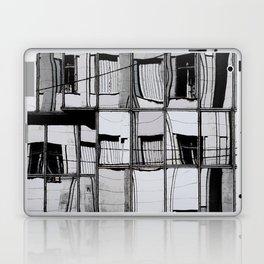 Reflections of Buildings on Buildings in Belgrade Laptop & iPad Skin