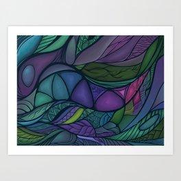 Flow of Time Art Print