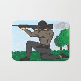 Sniper Paint Bath Mat