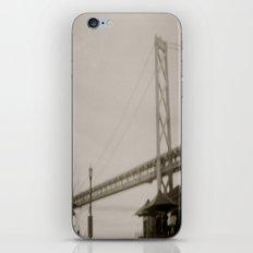 Coffee by the Bridge iPhone & iPod Skin